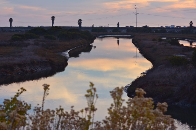 Evening light on the Lagoon